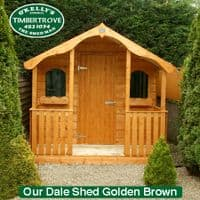 Garden Shed Dale Pressure Treated Timber